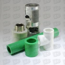 Cauruļvadu sistēmas un veidgabali - PP-R kausējamā plastmasa