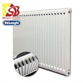 DeLonghi tērauda radiatori ar apakšas pieslēgumu - DeLonghi radiatori KV 10 tips