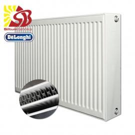 DeLonghi tērauda radiatori ar apakšas pieslēgumu - DeLonghi radiatori KV 33 tips