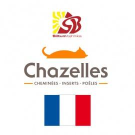 Kamīnkrāsnis un kamīnkurtuves - Chazelles kurtuves