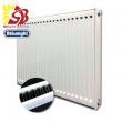 DeLonghi tērauda radiatori ar sāna pieslēgumu 11-300*700