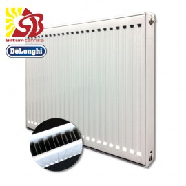 DeLonghi tērauda radiatori ar sāna pieslēgumu 11-400*1400
