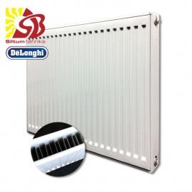 DeLonghi tērauda radiatori ar sāna pieslēgumu 11-500*900