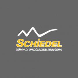 Izolēti nerūsējoša tērauda skursteņi  - Schiedel izolēti nerūsējoša tērauda skursteņi ICS50