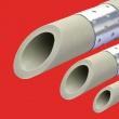 Pelēkās plastmasas caurules STABI FV-Plast