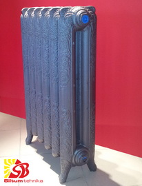 Čuguna radiatori Nostalgia 800/180 (10 sekc ar kājām)