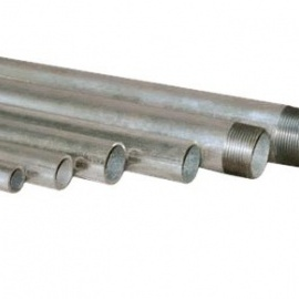 Piping systems and fittings - Steel pipes and iron fitings