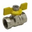 Arco gāzes ventiļi ar tauriņa rokturi i-i