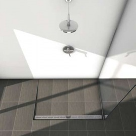 TECE - TECE taisnās dušas teknes un dekoratīvās restes