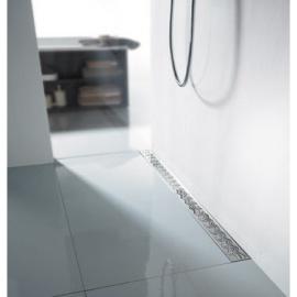 ACO - Līnijveida dušas kanāli ar horizontālo atloku un režģi