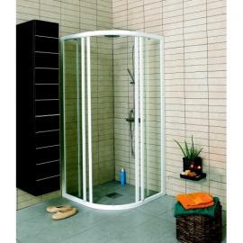 Dušas stūri - Pusapaļi dušas stūri