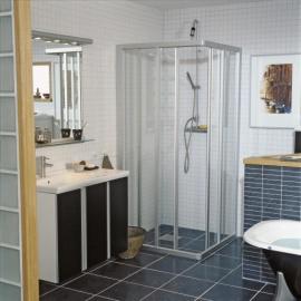 Dušas stūri - Kvadrātveida dušas stūri