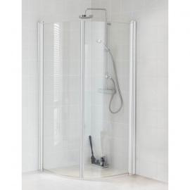Dušas stūri - Liekta stikla dušas stūri