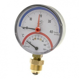 Heating system equipment - Thermo-manometers