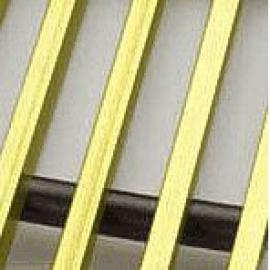 Licon restes iebūvējamiem konvektoriem - Licon dekoratīvās zelta krāsas restes