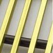 Licon dekoratīvās zelta krāsas restes (platums 420mm)
