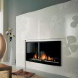 Chazelles apdares - Modernās kamīnu apdares