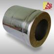 Izolēti nerūsējoša tērauda skursteņa caurules 1000 mm
