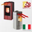CENTROMETAL fireplaces CentroPelet  with air heating
