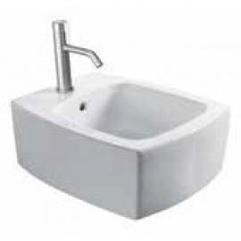 WC bidē SQUARE SOSPESO piekarams, balts
