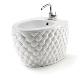 WC Bidē CLASS balts/matēts ar sudraba detaļām un aprīk.