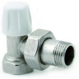 ICMA radiatoru balansvārsti 90° 1/2` kompresijas