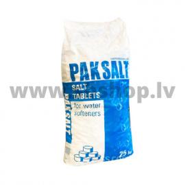 Sāls tabletes PAKSALT 25kg ūdens attīrīšanai (Polija) AKCIJA