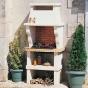 CHAZELLES dārza kamīnu apdares