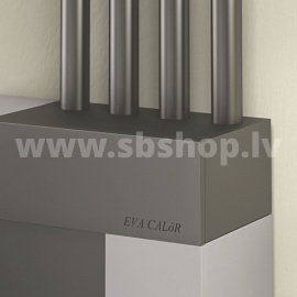 CENTROMETAL granulu kamīns FUTURA 15kW ar 4 gaisa izvadiem