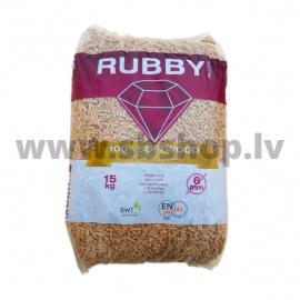 Kokskaidu granulas 6mm 15kg/ maiss
