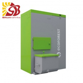 ECOFOREST granulu apkures katls VAP 38kW ar automātisko tīrīšanu